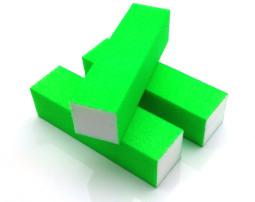 4 Way Nail Buffer  4-NEON Zöld  002