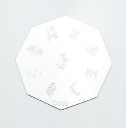 Körömnyomda mintázó korong G02