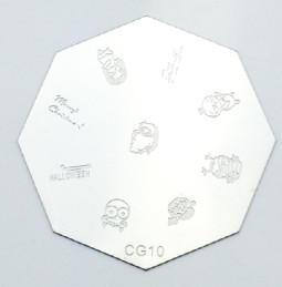 Körömnyomda mintázó korong G10
