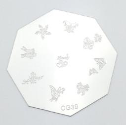 Körömnyomda mintázó korong G39