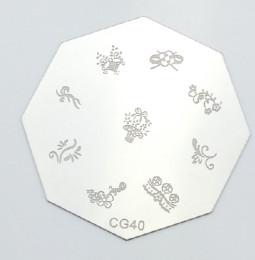 Körömnyomda mintázó korong G40