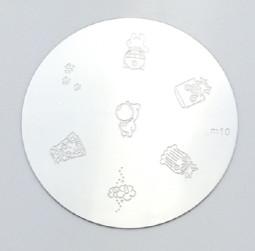 Körömnyomda mintázó korong M10