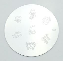Körömnyomda mintázó korong M33