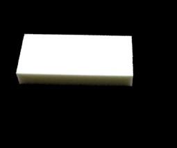 Buffer kétoldalú ,fehér  005