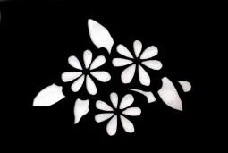 Csillám tetováló sablon 4cmx6cm   085