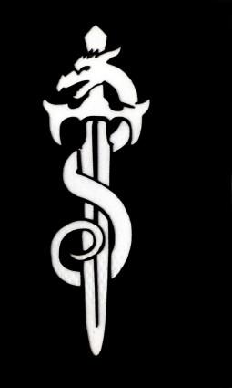 Csillám tetováló sablon 4cmx6cm   091
