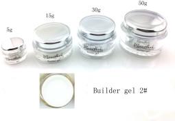 Építő zselé-002# fehér 15g