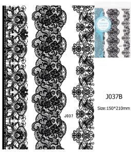 Henna tetoválás matrica 15cmX21cm J037B  37B