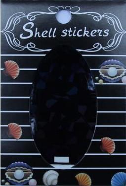 Kagyló hatasú matrica,öntapadós, z-d918  918