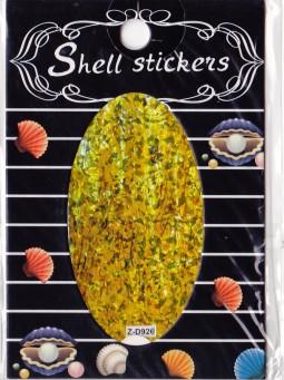 Kagyló hatasú matrica,öntapadós, z-d926  926