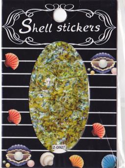Kagyló hatasú matrica,öntapadós, z-d927  927