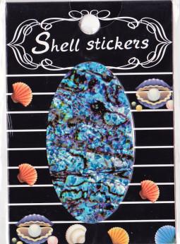 Kagyló hatasú matrica,öntapadós, z-d932  932