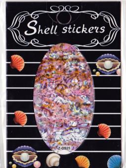 Kagyló hatasú matrica,öntapadós,z-d925  925