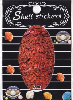 Kagyló hatasú matrica,öntapadós,z-d928  928