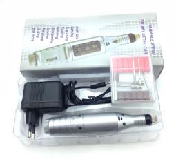 Mini Műköröm csiszológép-DM021, Ezüst  ver
