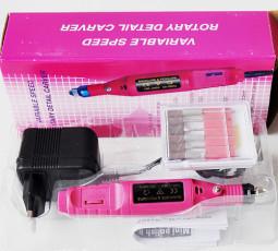 Mini Műköröm csiszológép-DM021, pink  INK