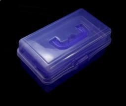 Műanyag kellékes doboz-Lila  022