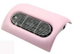 Műkörmös porelszívó 3 ventillátoros /  rózsaszí  ink