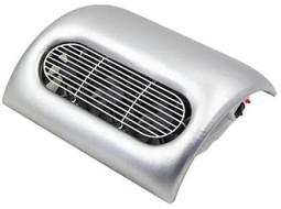 Műkörmös porelszívó,3 ventillátoros / Ezüst  ver