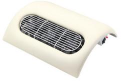 Műkörmös porelszívó,3 ventillátoros / fehér  ite