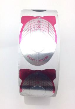 Műköröm sablon 500 db Pink-1  001