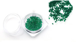 Ss3 pixie strasszö  300db-os,Emerald  024