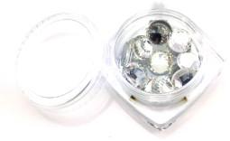Strasszkő SS34-15db-001 Crystal  001