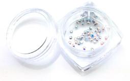 Strasszkő SS4-50db-027 Crystal AB  027