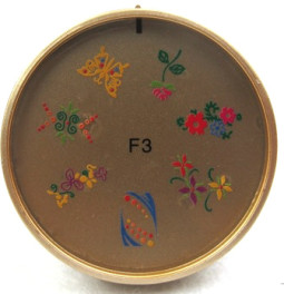 Szilikon mintázó korong -F3