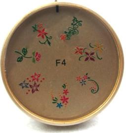 Szilikon mintázó korong -F4