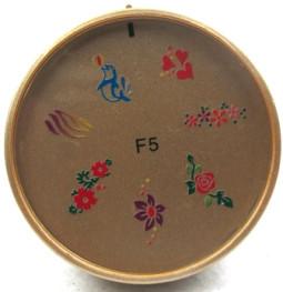 Szilikon mintázó korong -F5
