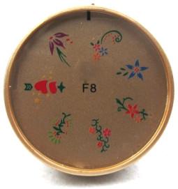 Szilikon mintázó korong -F8