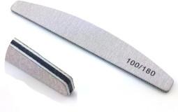 Szürke Reszelő íves,középen fekete 100/180  052